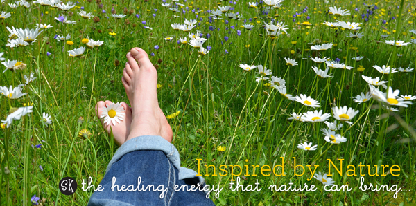 Go Earthing! The healing energy that nature can bring….