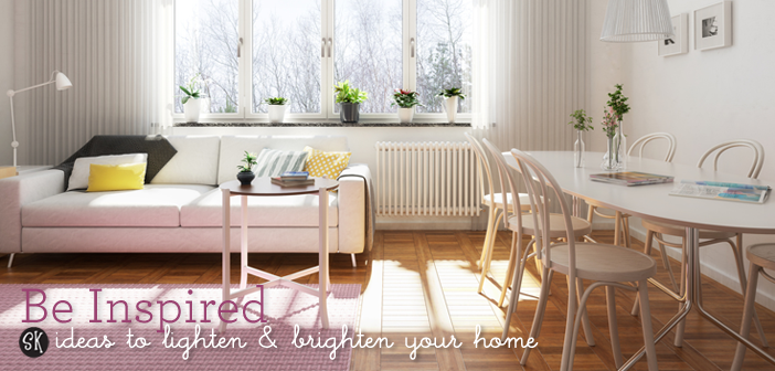 Be Inspired to Lighten and Brighten up Your Home…