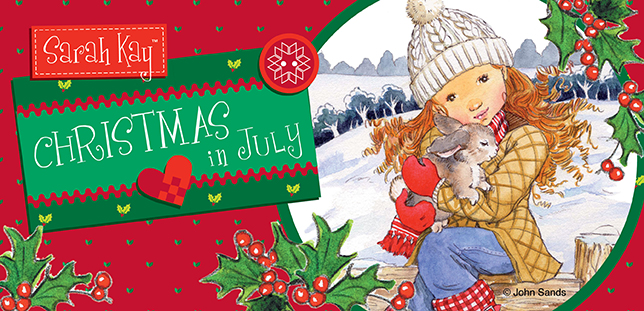 Christmas in July with Sarah Kay