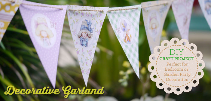 Free Heritage Inspired Decorative Garland