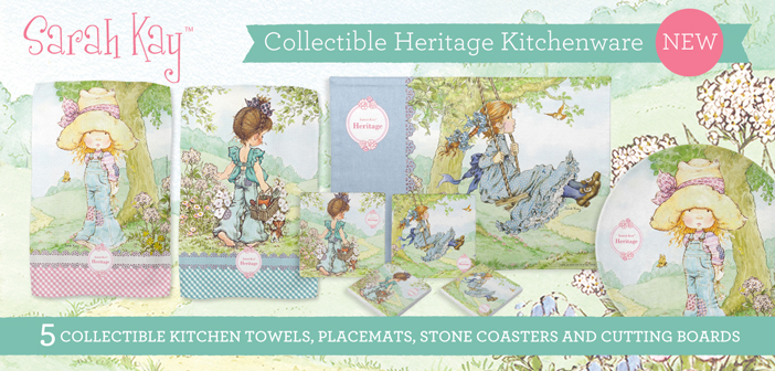 NEW Sarah Kay Collectible Kitchenware